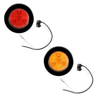 Optronics LED Round Marker And Clearance Light With Multiple Diodes