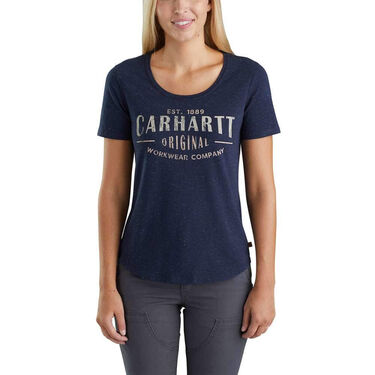 Carhartt Women's Lockhart Workwear Short-Sleeve Tee