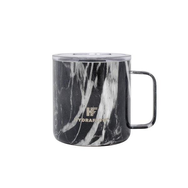 Hydraflow 10-oz. Parker Mug w/Lid, Black Marble