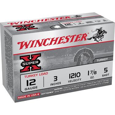 "Winchester Super-X Turkey Loads, 12-ga., 3"", 1-7/8 oz."