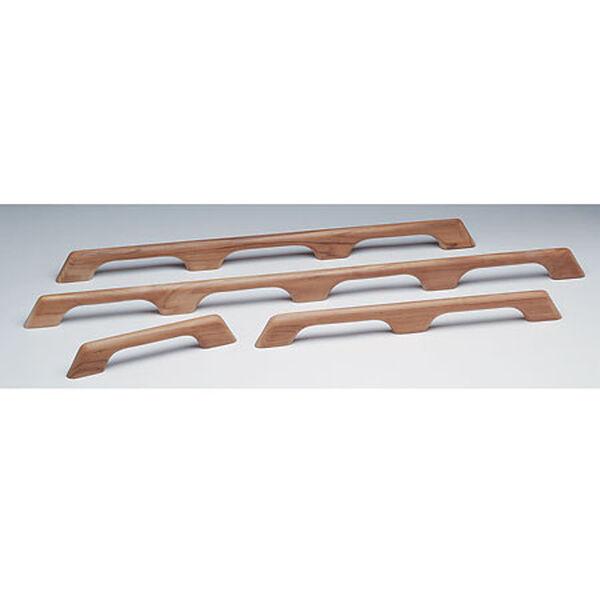"Whitecap Teak Seven-Loop Handrail, 73""L x 2-3/8""H x 1""D"