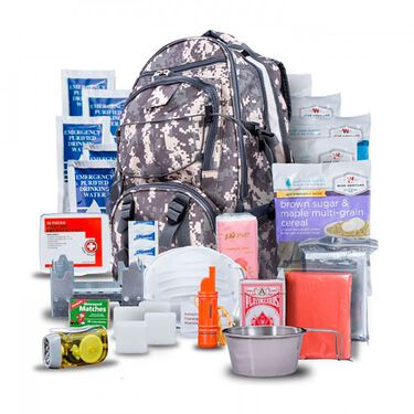 Wise 5-Day Survival Kit Backpack, Camo