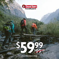 1 Year of Good Sam Travel Assistance $59.99