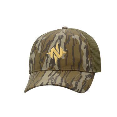 """Nomad Men's """"N"""" Mark Camo Low Country Trucker Cap"""