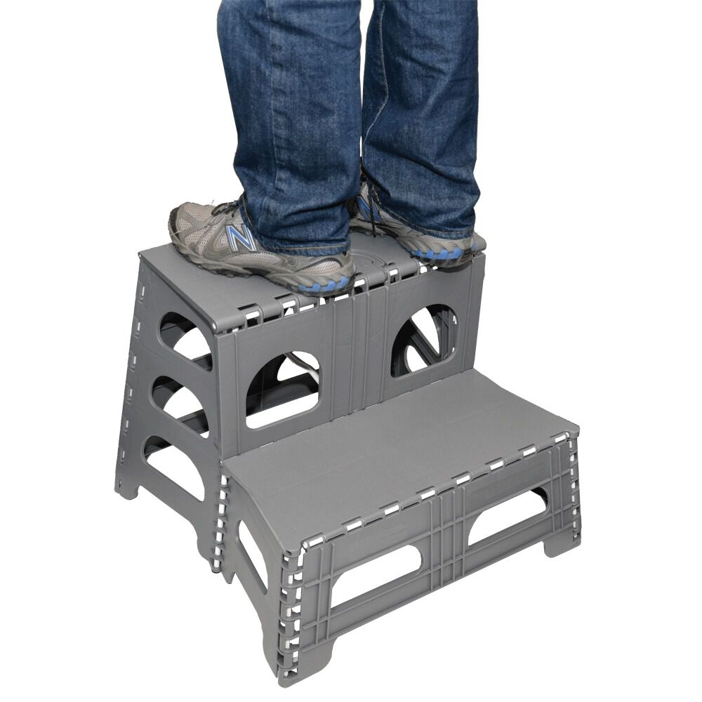 Fantastic Folding 2 Step Stool Gmtry Best Dining Table And Chair Ideas Images Gmtryco