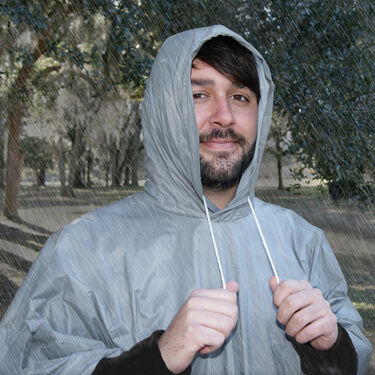 Ultimate Survival Technologies All-Weather Adult Poncho, Gray