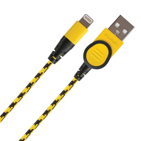 Stanley Braided USB Lightning Cable, 10 Ft.