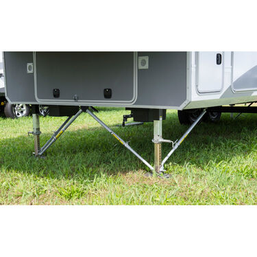 """JT Strong Arm Jack Stabilizer System - 5th Wheel Kit Over 58"""" Between Landing Gear"""