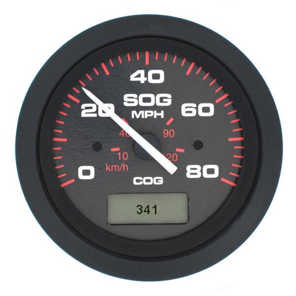 "Sierra Amega 3"" GPS Speedometer With LCD Heading Display, 80 MPH"