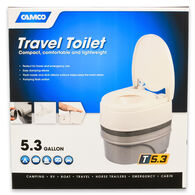 Camco Travel Toilet, 5.3 Gal.