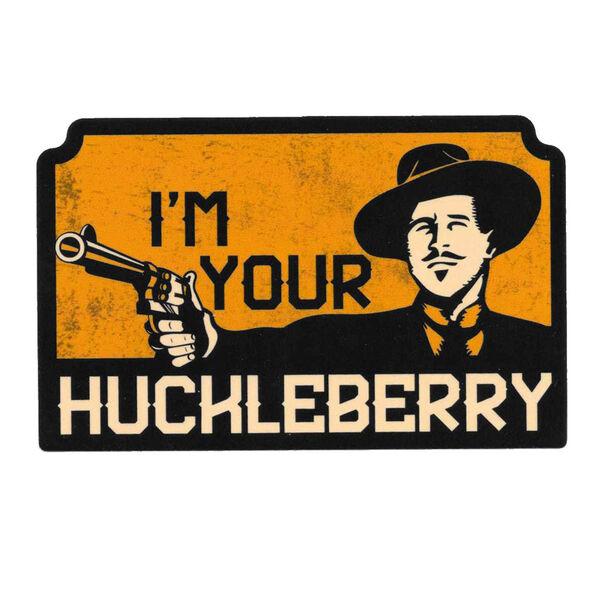 Patriot Patch I'm Your Huckleberry Sticker