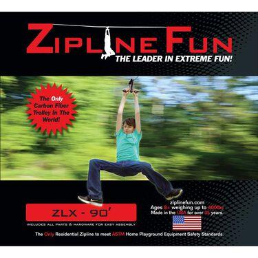 Adventure Parks Zipline XL, Black