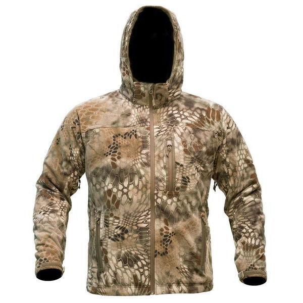 Kryptek Men's Vellus Fleece Jacket