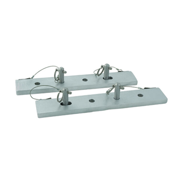 Dockmate Dock Ladder Quick-Release Mounting Plates (pair)