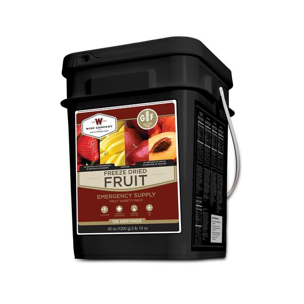 Wise Foods Gluten Free Freeze Dried Fruit 156 Servings Camping World