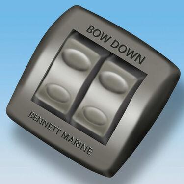 """Bennett Hydraulic Trim Tab System, 18"""" x 9"""""""