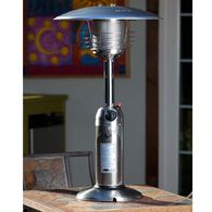 Table Top Patio Heater, 10,000 BTU, Stainless Steel