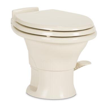 Wondrous Dometic Ceramic 310 Series Rv Toilet With Hand Sprayer Customarchery Wood Chair Design Ideas Customarcherynet