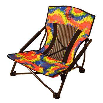 Crazy Legs Quad Beach and Festival Chair, Tie-Dye