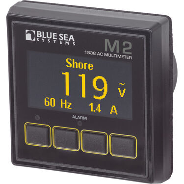 Blue Sea Systems M2 AC Multimeter OLED Digital Monitor