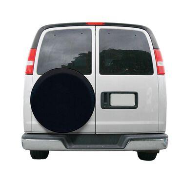 "Overdrive Custom Fit Spare Tire Cover - Tire diameter 30""-33"", Black"
