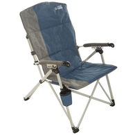 Venture Forward 3-Position Recliner, Blue/Gray
