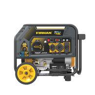 FIRMAN 4550/3650: GAS 4100/3300: LPG Watt Electric Start Hybrid Dual Fuel Generator