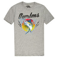 The Stacks Men's Overton's Today's Catch Short-Sleeve Tee