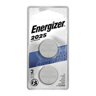Energizer 2025 3V Lithium Coin Battery, 2-pack