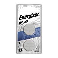 Energizer 2025 3V Lithium Coin Battery, 2-pack