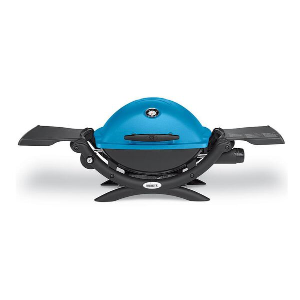 Weber Q 1200 Portable Gas Grill, Blue