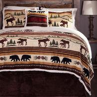 Hinterland 5-piece Sherpa Queen Bedding Set
