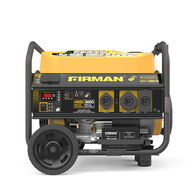 FIRMAN 4550/3650 Watt Remote Start Gas Portable Generator With Wheel Kit