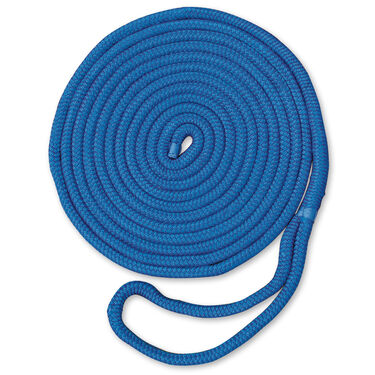 "Dockmate Premium Double Braid Nylon Dock Line, 3/8"" x 25'"