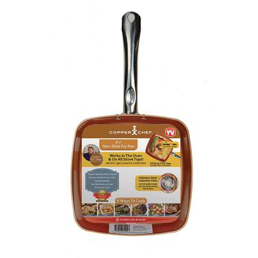 """Copper Chef 9 1/2"""" Non-Stick Pan"""