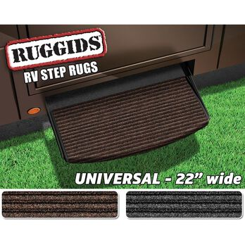 Universal RV Step Rug, 22'', Coffee Brown