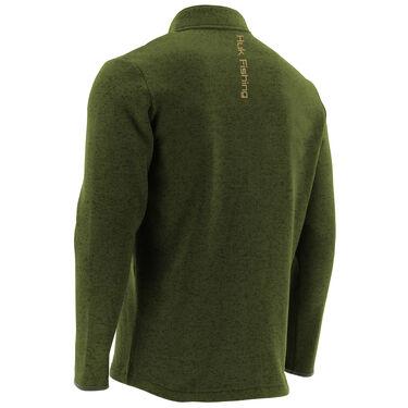 Huk Men's Channel Fleece Quarter-Zip Pullover