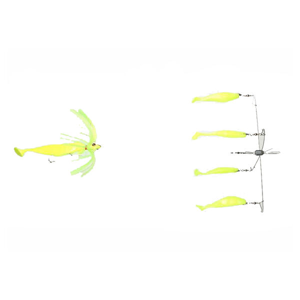 """Blue Water Candy 4-Arm 15"""" Umbrella Rig with 4-oz. Parachute Chaser"""