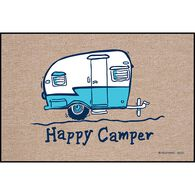 "High Cotton Door Mats, 18"" x 27"", Happy Camper"