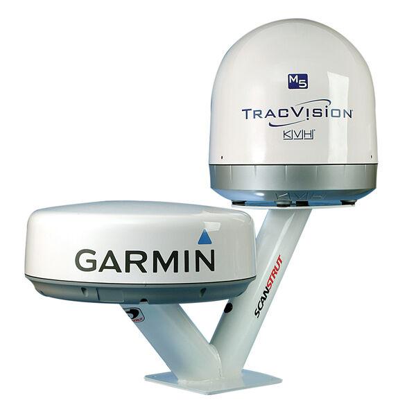 Satcom Dual PowerTower for Radomes and 40cm Satcom Antennas