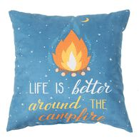 "Life Is Better Throw Pillows, 16"" x 16"""
