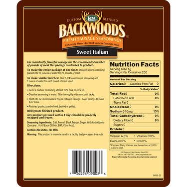 LEM Backwoods Sweet Italian Fresh Sausage Seasoning, 25 lbs.