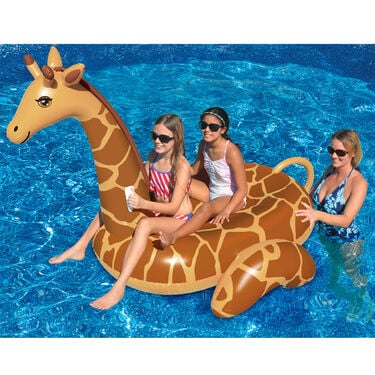Swimline Giant Giraffe Ride-On Float
