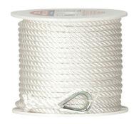 "Twisted Nylon Anchor Line, 3/8"" x 150'"
