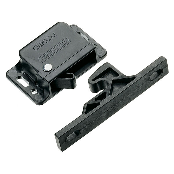 Southco Grabber Catch Latch - Side Mount - Black - Pull-Up Force 22N (5lbf)
