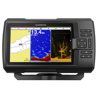 Garmin Striker Plus 7cv GPS Fishfinder with Quickdraw Contours Mapping Software