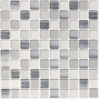 Peel and Stick Mosaic Wall Tiles, Bahia Honda- 5 Pack
