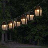 Black Lantern Mini Light Set