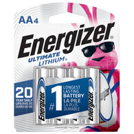 Energizer AA Ultimate Lithium Batteries, 4-pack