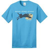Dog is Good Never Sleep Alone Unisex Tee, XLarge